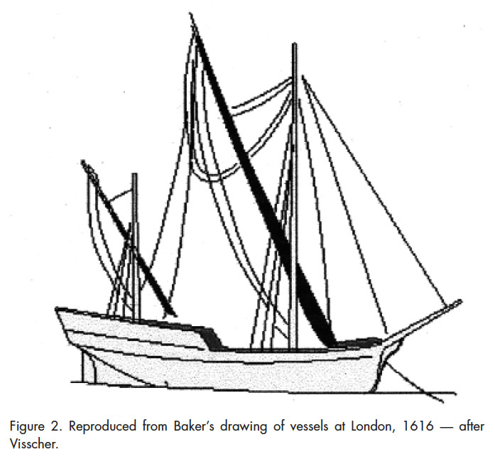 697x653 The Reconstruction Of The Vessel Indeavour Halliday