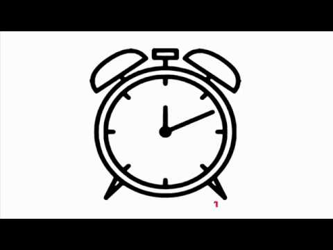 480x360 Coloring Pages How To Draw A Alarm Clock Step By Step Alarm