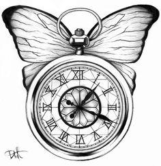236x242 Clock Drawing