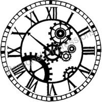 400x400 Clocks Gears Balls Clocks, Steampunk Gears