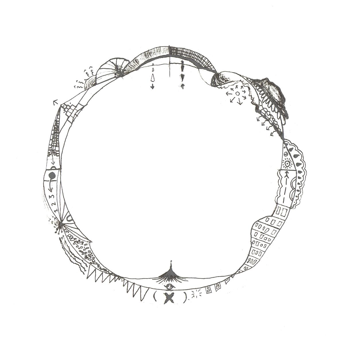 1181x1181 Clock Drawing