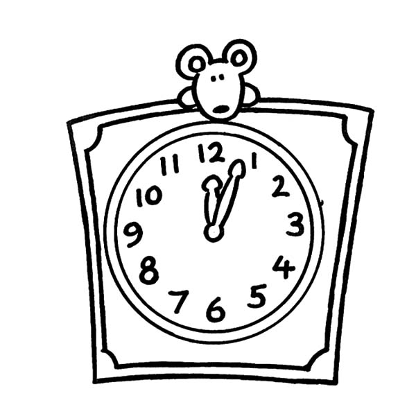 Clock Drawing Images At GetDrawings
