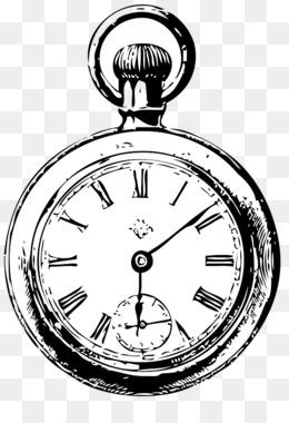 260x380 Free Download Alarm Clock Drawing Pocket Watch
