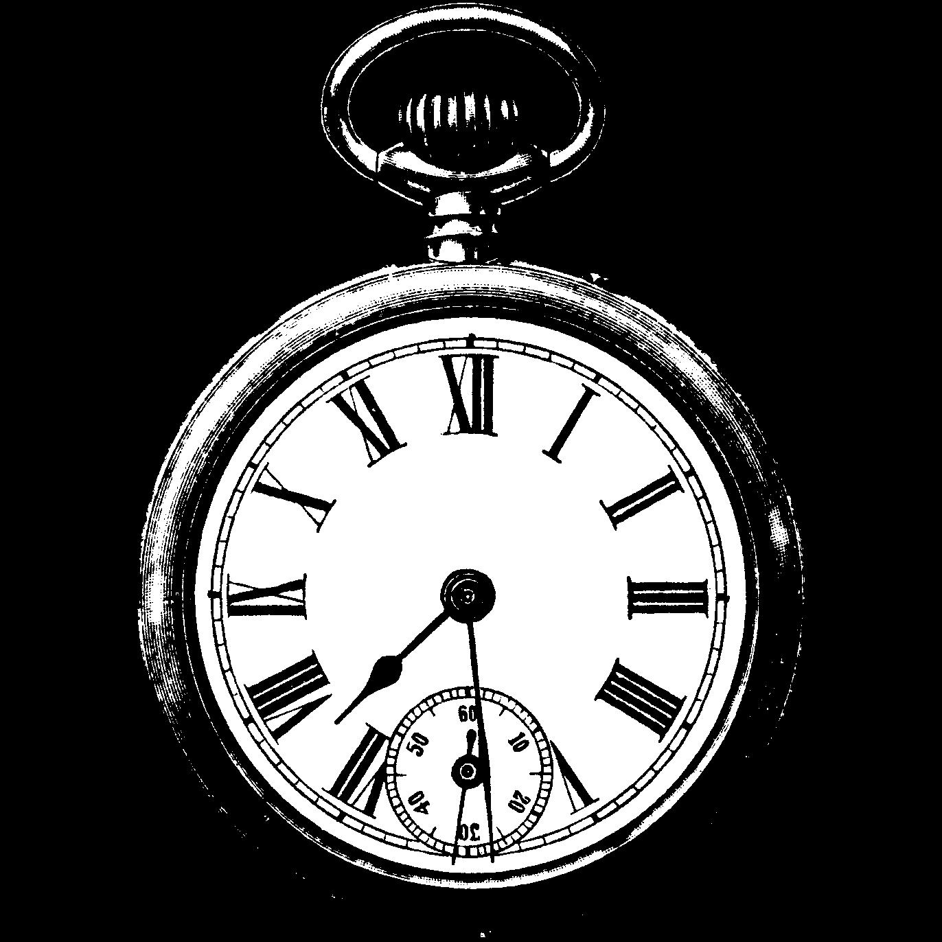 1372x1372 Old Clocks Drawings