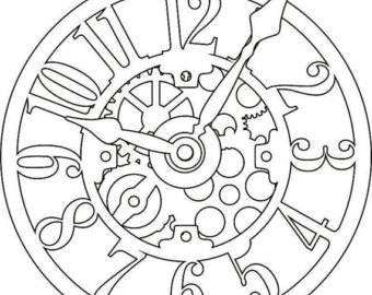 Clock Face Drawing at GetDrawings com | Free for personal