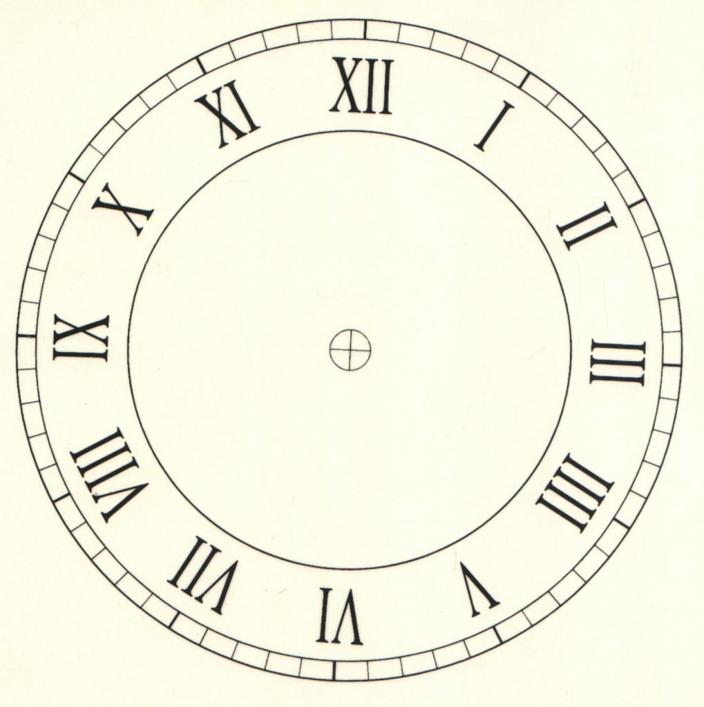 1019x1024 D6.1s Roman Clock Face 6ampquot