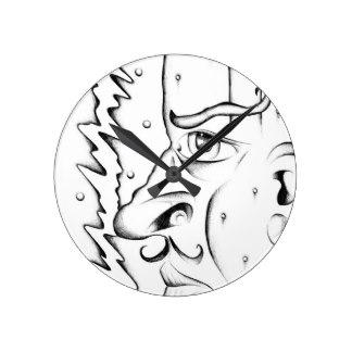 324x324 Dazed Wall Clocks Zazzle