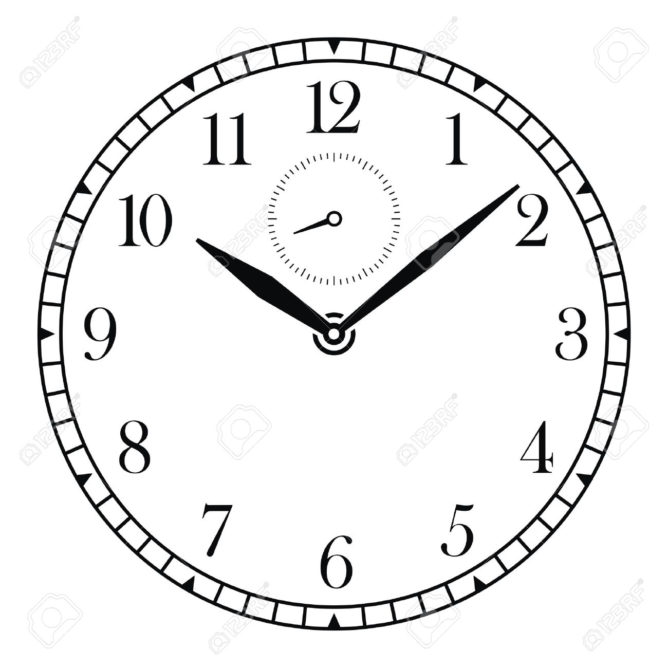 Clock Face Drawing at GetDrawings com | Free for personal use Clock