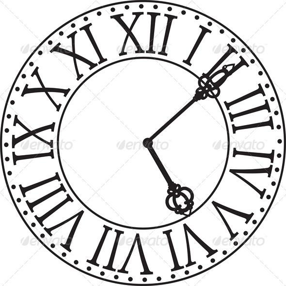 590x590 Antique Clock Face Antique Clocks, Clock Faces And Clocks