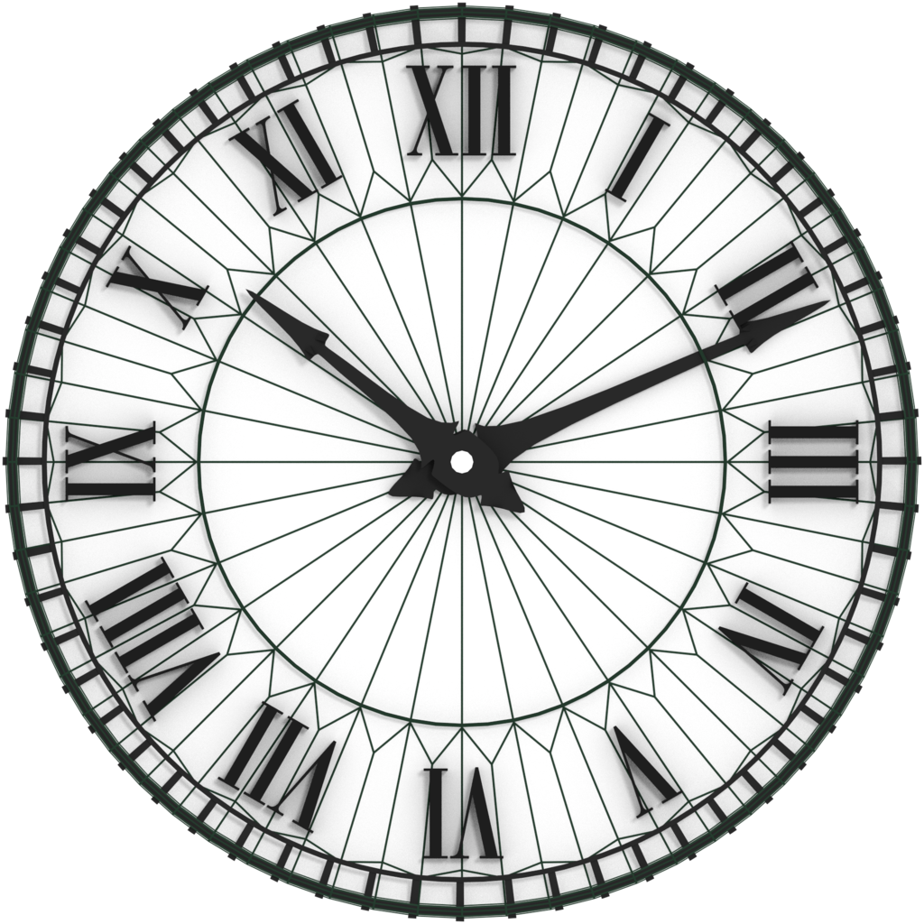 1024x1024 Antique Clock Face By Twitte0king On DeviantArt