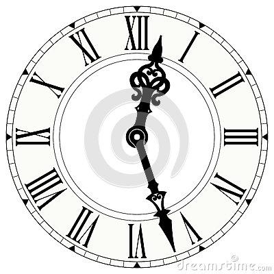 400x400 Best Photos Of Victorian Clock Face Clip Art