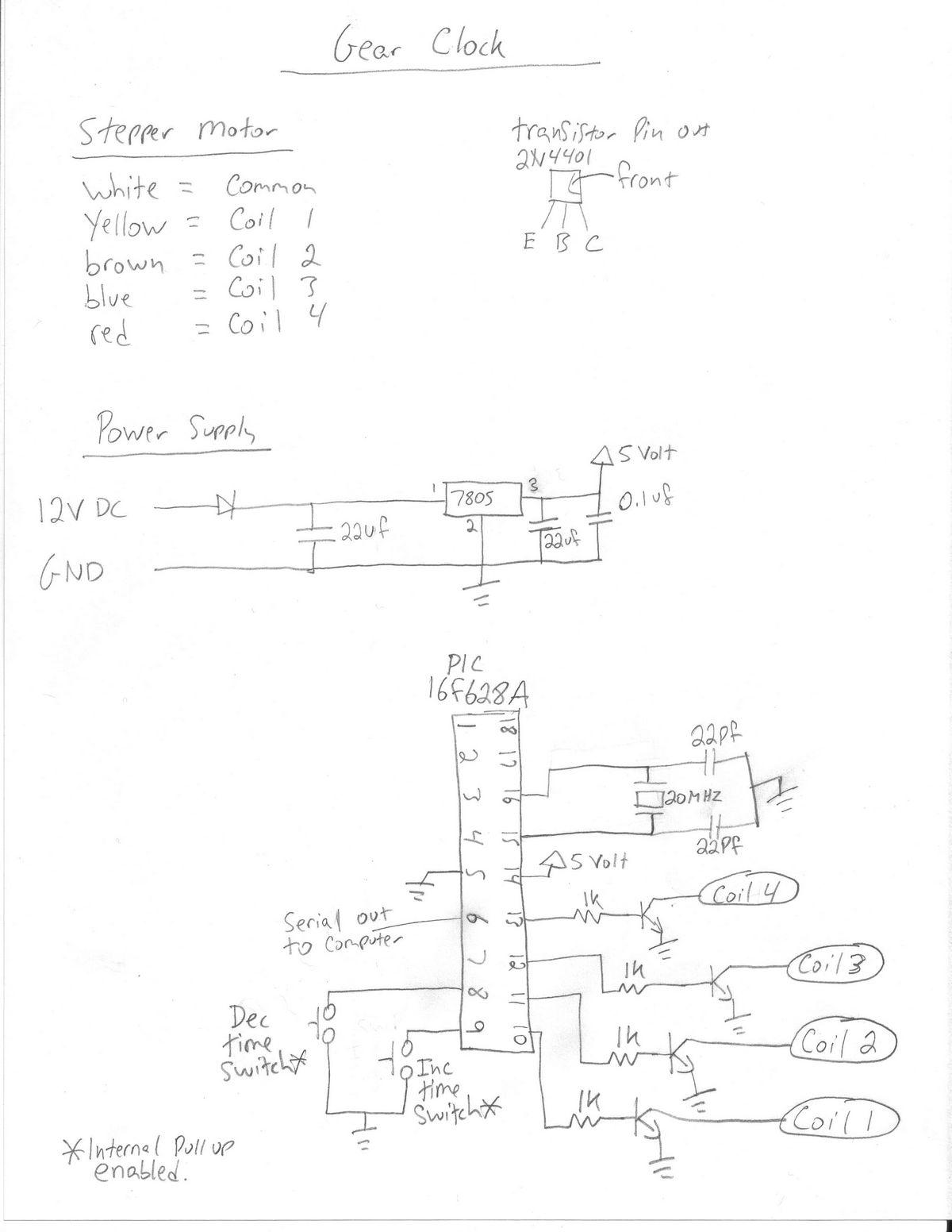 1200x1552 Gear Clock