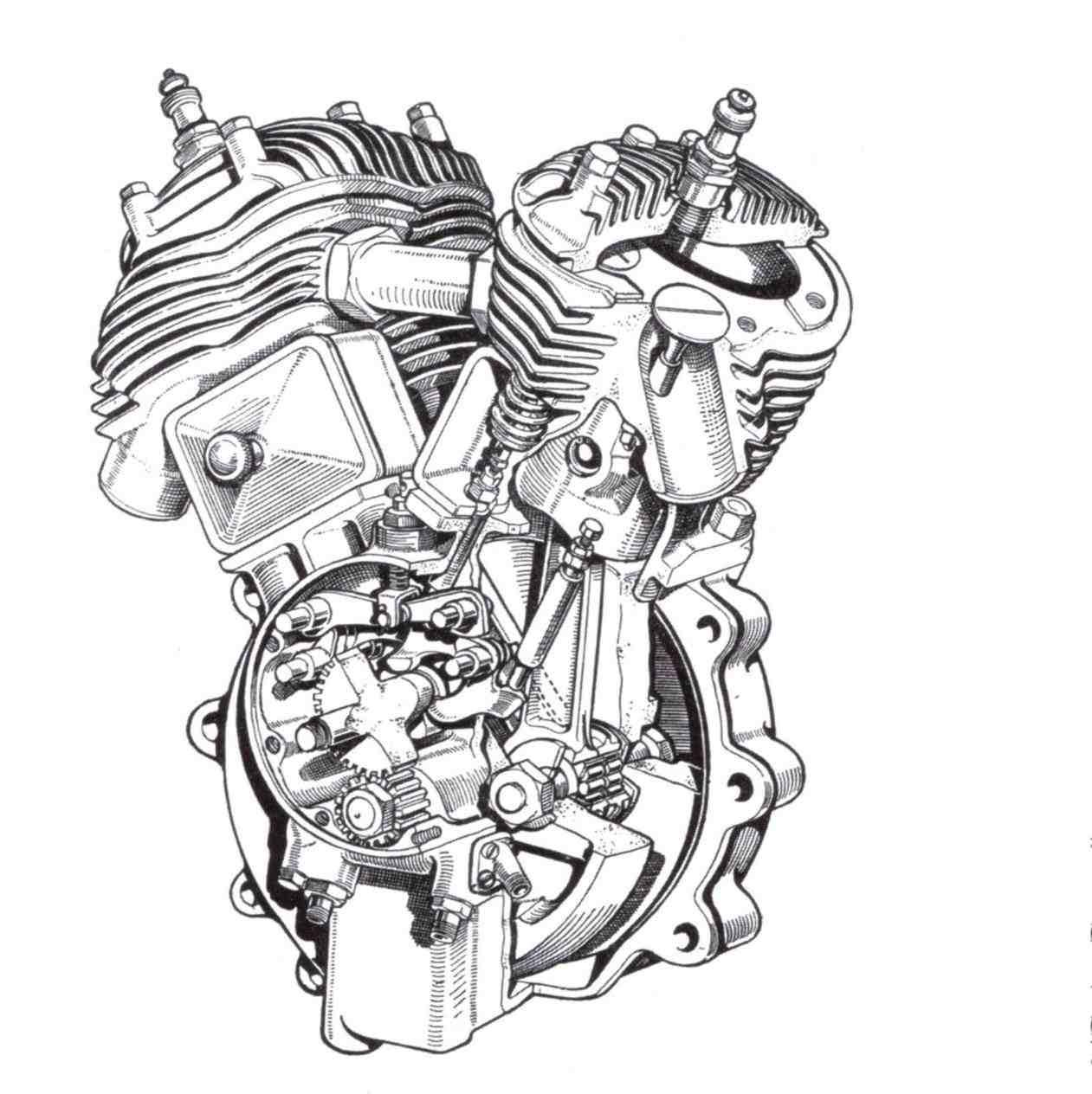 1261x1264 Biomechanical Gears Drawings