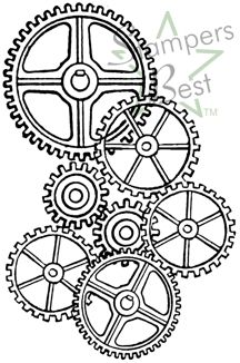 graphic about Gears Printable named Clock Gears Drawing at  Cost-free for individual