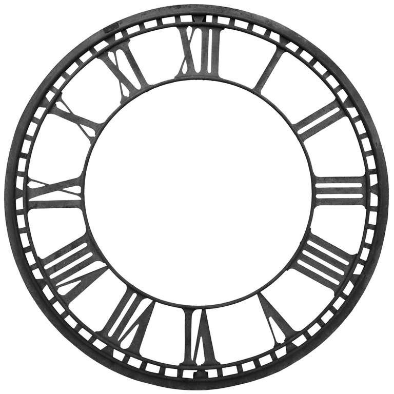 Clock Line Drawing