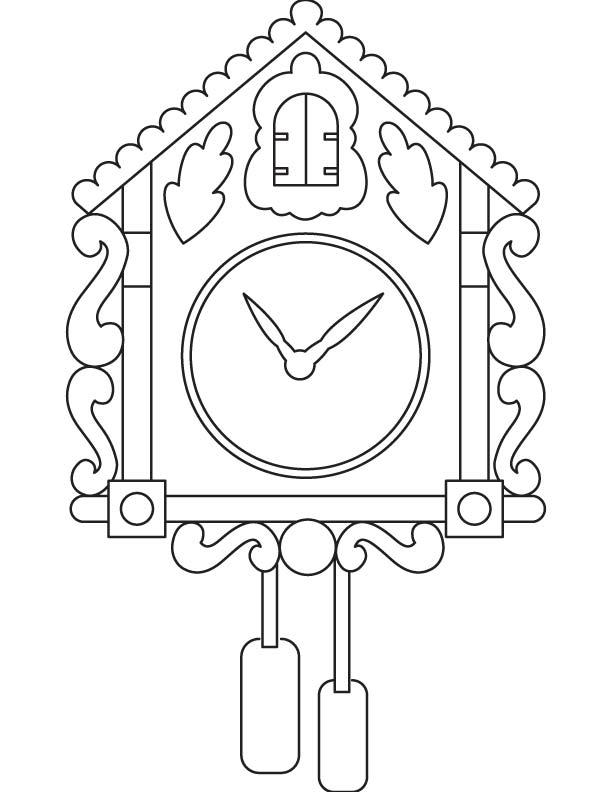 612x792 Family Clock