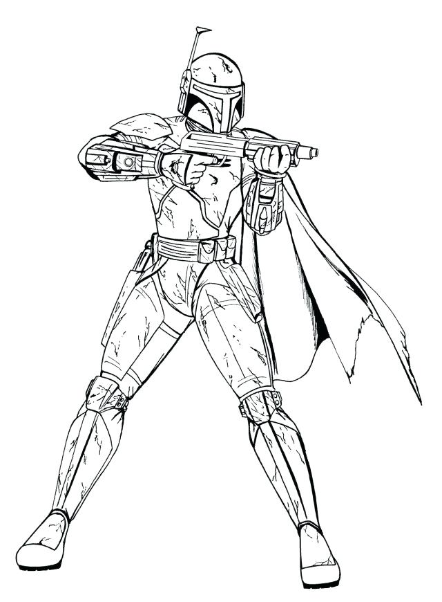 640x870 Clone Trooper Coloring Pages Trend Star Wars Clone Trooper