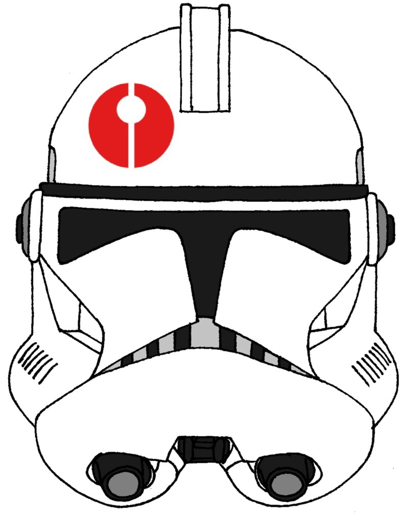 791x1010 Clone Trooper Helmet 91st Reconnaissance Corps By Historymaker1986