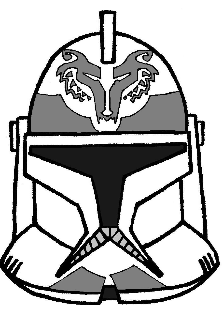 908x1256 Clone Trooper Helmet Wolfpack 2 Clone Wars Tv Show Helmets