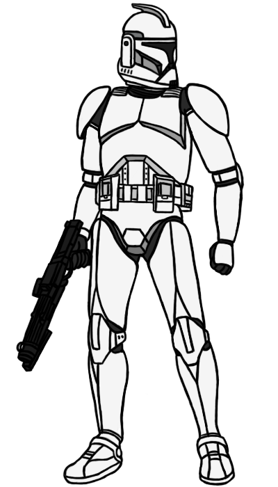 400x700 Phase I Clone Trooper Base By Pd Black Dragon