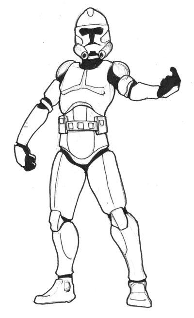 400x654 Star Wars Troops Drawings Star Wars Troop Carrier