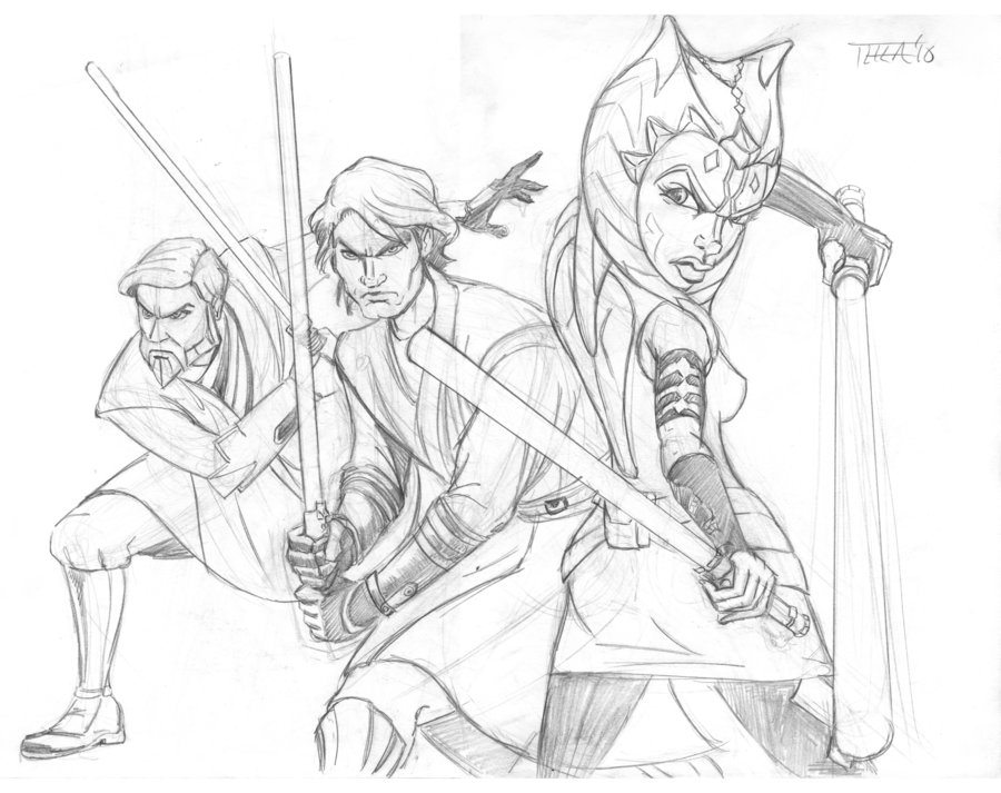 900x713 Clone Wars 2 By Theamat
