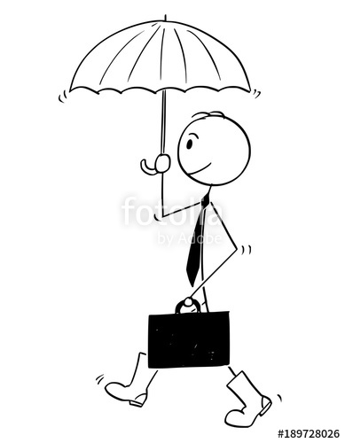 389x500 Cartoon Stick Man Drawing Conceptual Illustration Of Businessman