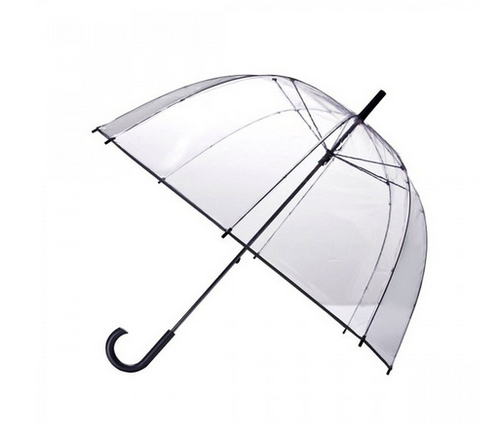 500x433 Funmatic Clear Transparent Dome Shape Style Umbrella, Umbrella