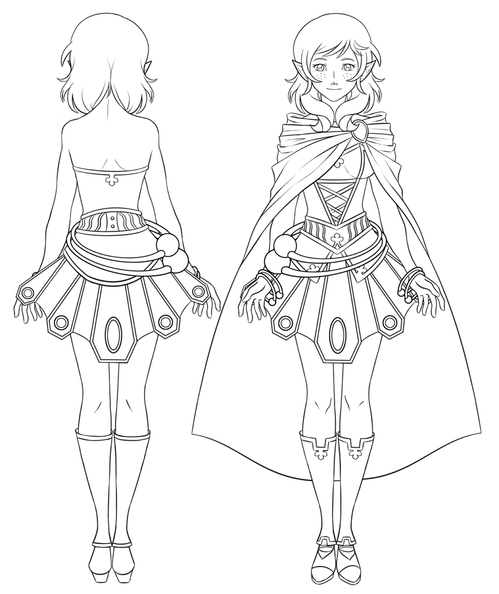 1000x1190 How To Draw Anime Body With Clothes Manga Drawing Archives