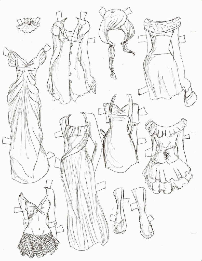 793x1024 Anime Clothes Drawing