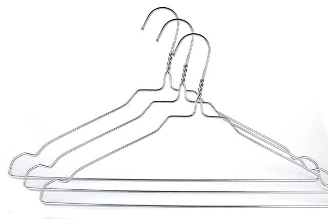 640x427 Famyshop Quality Stainless Steel Metal Wire Clothes Hangers