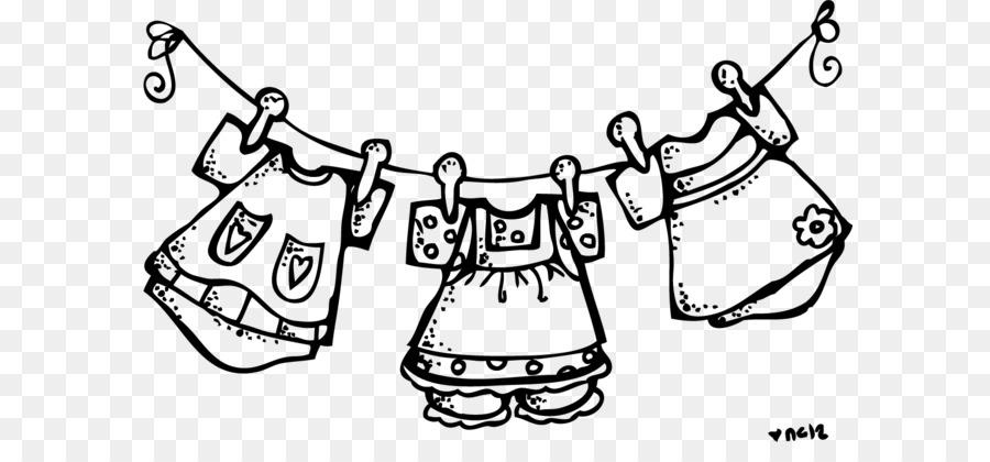 900x420 Laundry Clothes Line Clothes Dryer Clothing Clip Art