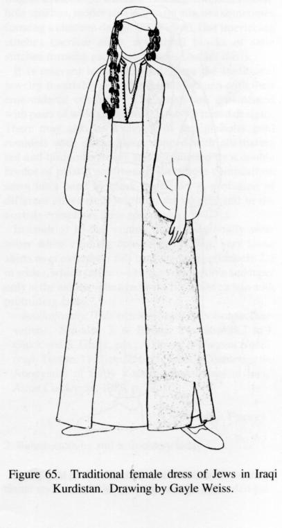 407x762 Clothing Xvii. Clothing Of The Kurdish Jews Encyclopaedia Iranica