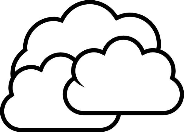 600x430 Cloud Coloring Page Cartoon Clouds Pages Jpg 600x430