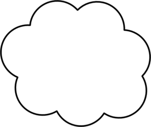 298x252 Cartoon Cloud Clip Art