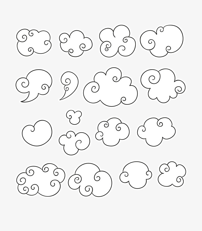 650x744 Cloud Sketch, The Weather, Cloud, Stroke Png And Vector For Free