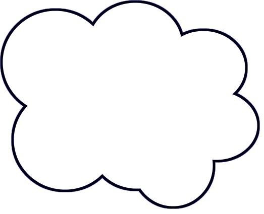523x425 Diy Paper Cloud Mobile Tutorial