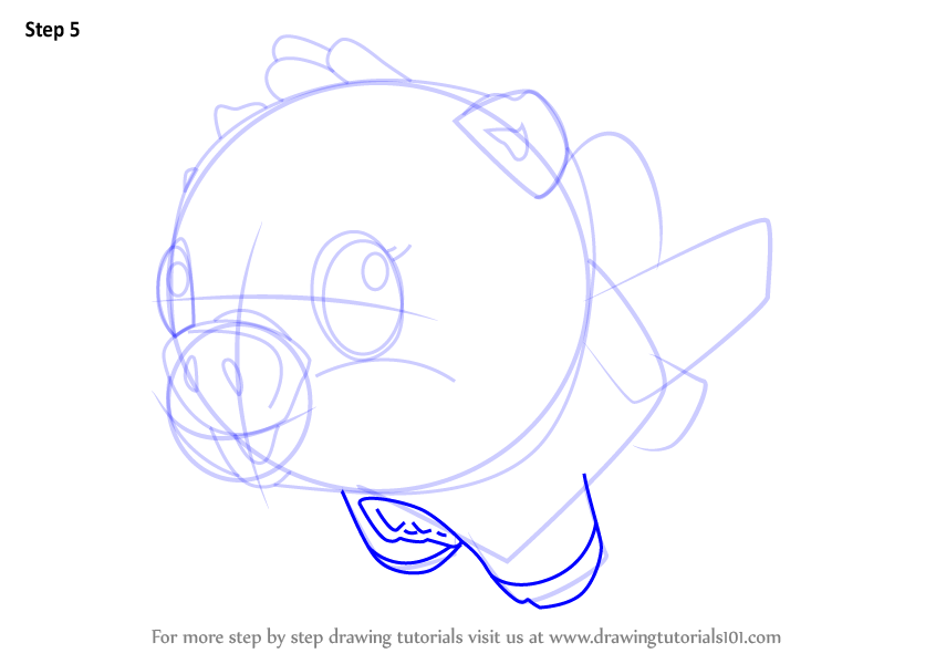 846x600 Learn How To Draw Cloud Pigpiper From Hatchimals (Hatchimals) Step