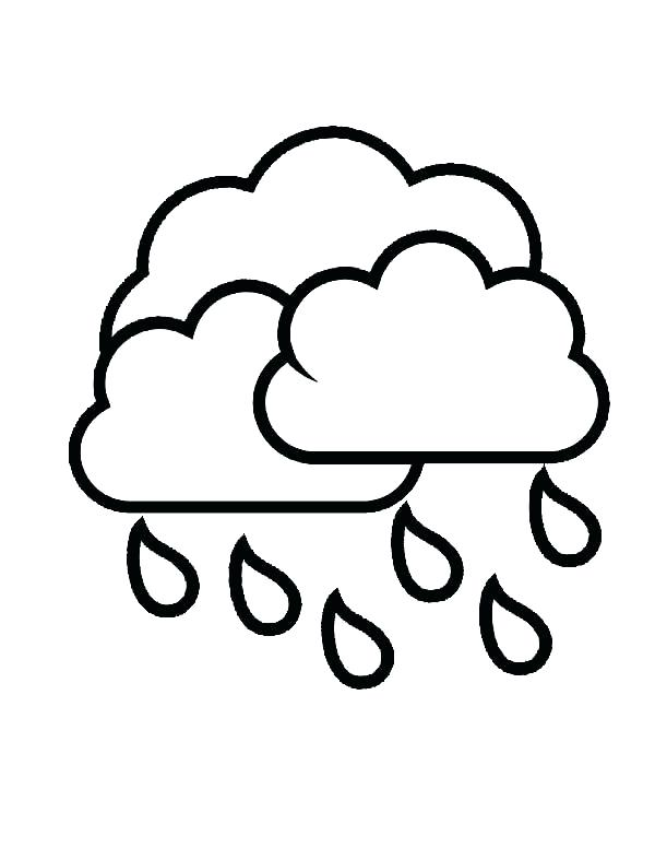 600x776 Best Of Cloud Coloring Page Images Kids Drawing Of Clouds Coloring