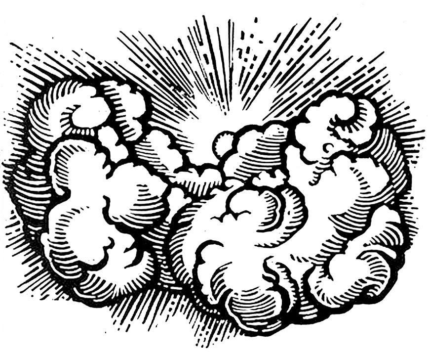 867x724 Cloud Drawing