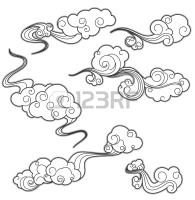 Cloud Drawing Tattoo