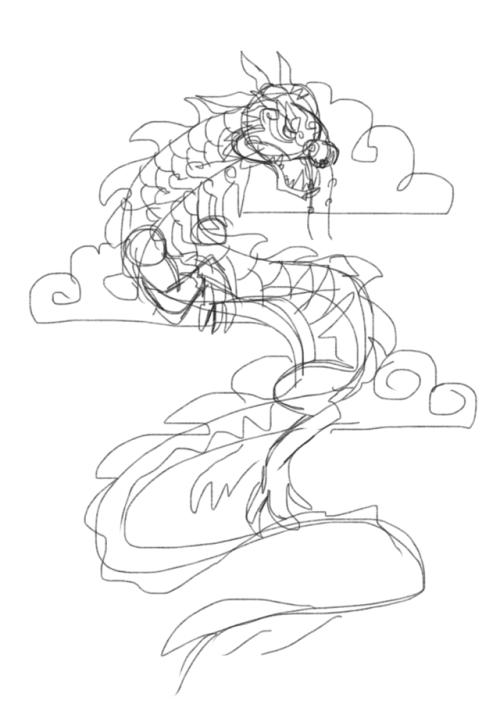 500x708 Azure Cloud Serpent Tumblr