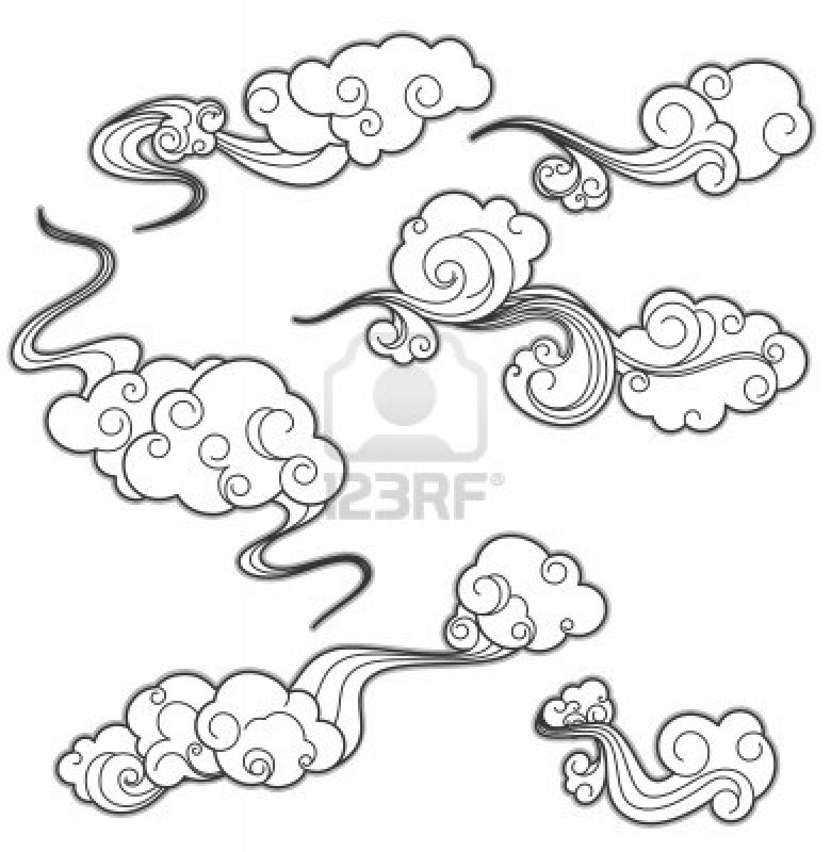 1170x1200 Hot Tattoos Divine Cloud Tattoo Design Tattoo