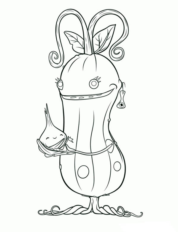 600x781 Mommy Pickle In Cloudy With A Chance Of Meatballs Coloring Pages