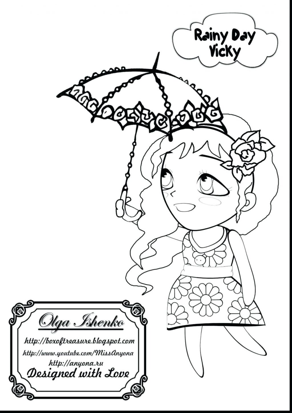 1024x1449 Coloring Pages ~ Rainy Day Coloring Pages Stunning With And Free