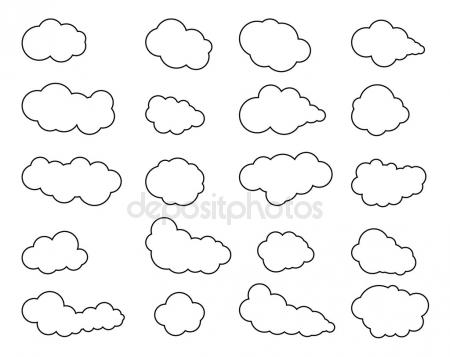 450x357 Clouds. Cloud Vector. Cloud Icon Vector. Cloudy Sky. Clouds Blue