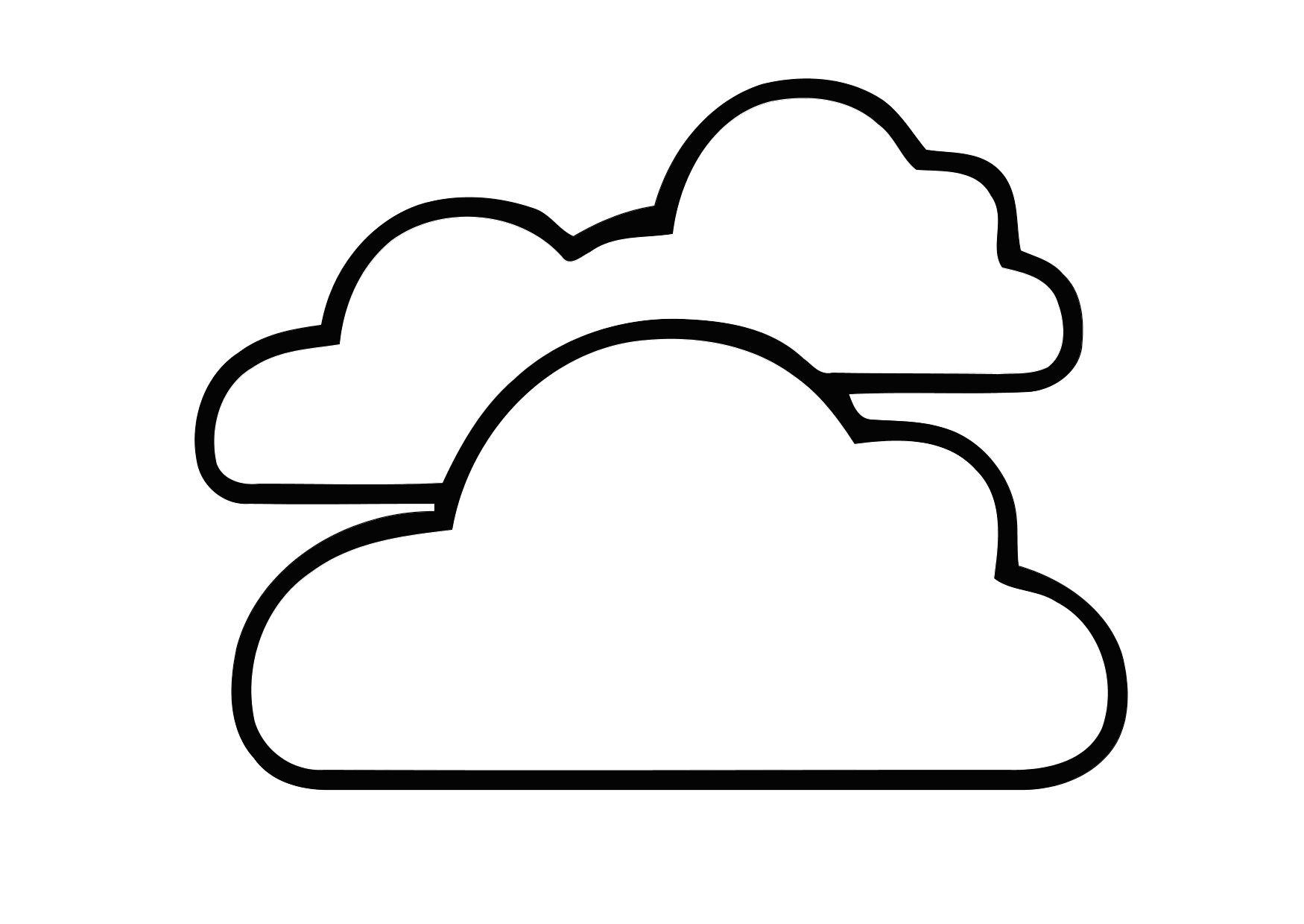 1750x1240 Coloring Page 01a. Cloudy