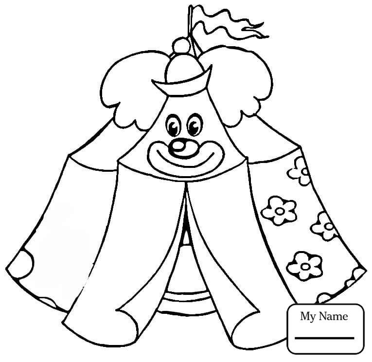 765x744 Cartoon Clown Activities Circus Coloring Pages For Kids
