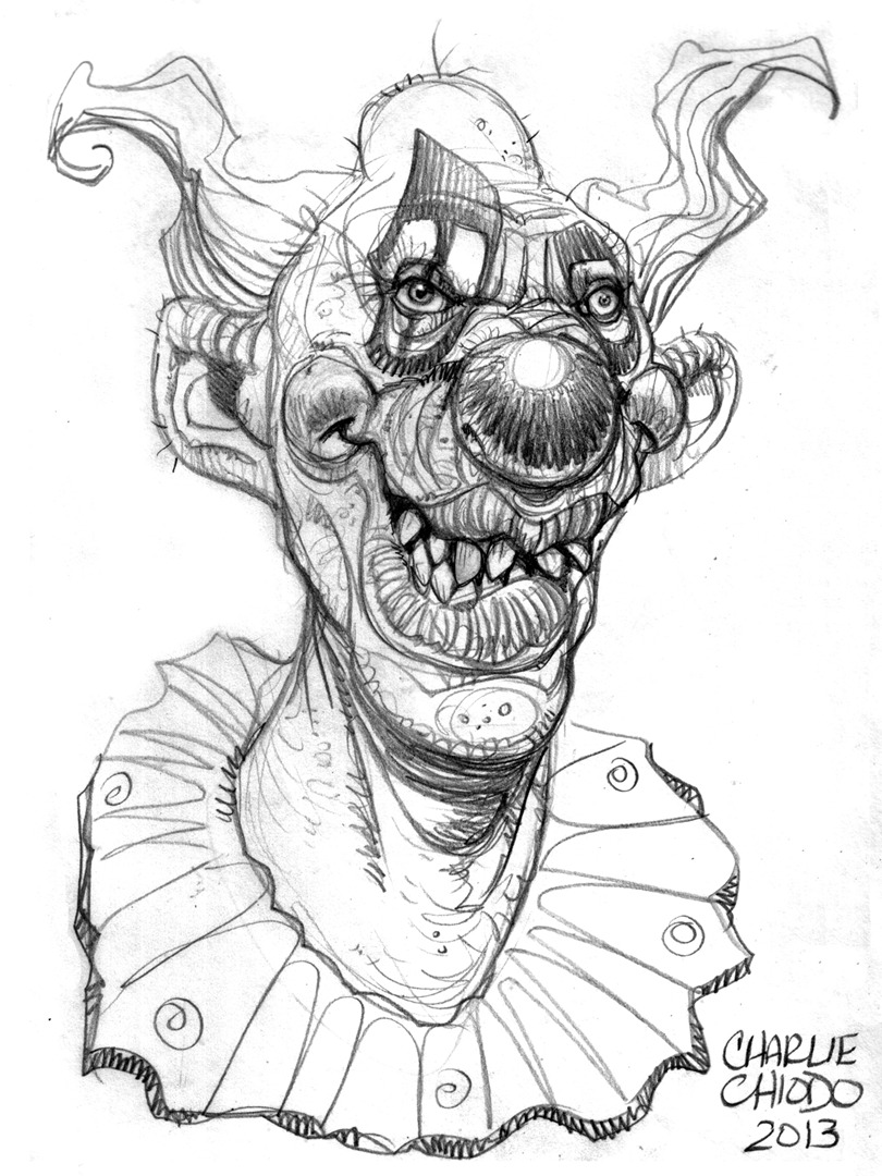 Clown Drawing Pictures at GetDrawings.com | Free for personal use ...