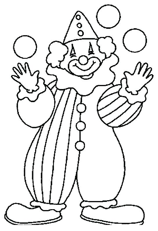 545x794 Coloring Pages Clown Clown Printable Free Clown Face Coloring